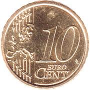 10 cents d'euro François (1er type) -  avers