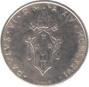 50 lires Paul VI -  avers