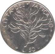 50 lires Paul VI -  revers