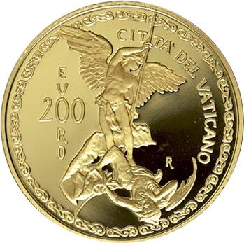 200 euros Archange Michel - Vatican - Numista