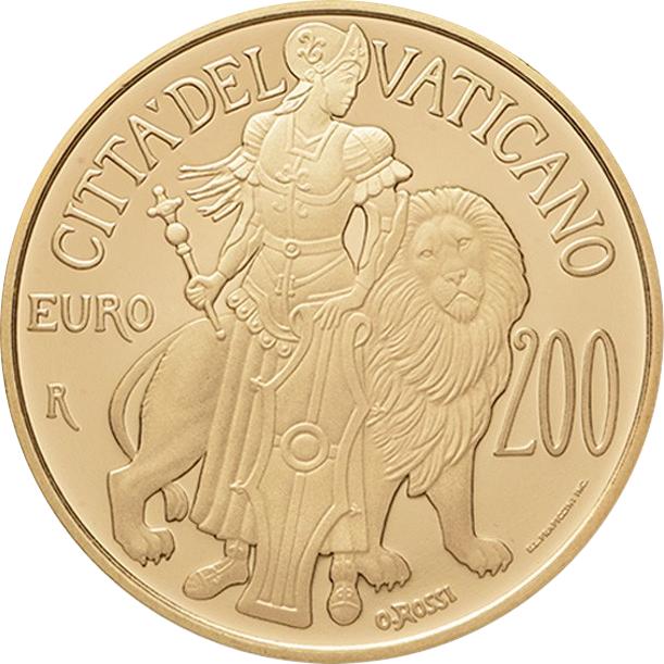 200 Euro - Franciscus (Fortitude) - Vatican - Numista