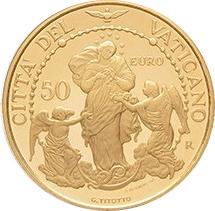 50 euros Gabriella Titotto - Vatican - Numista