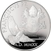 20 Euro - Franciscus -  avers