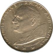 100 lires Jean Paul II -  avers