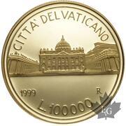 100000 lires -  avers