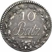 10 batzen – revers