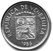 5 centimos (acier plaqué cupronickel) – avers
