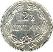 12½ centimos (cupronickel) – revers