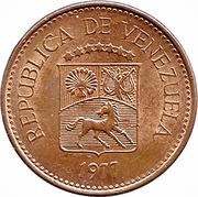 5 centimos (acier plaqué cuivre) – avers