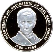 100 bolivars (Jose M. Vargas) – revers