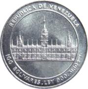100 bolivars (Jose M. Vargas) – avers