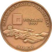 3000 bolivars (Maison de la monnaie de Maracay) – revers