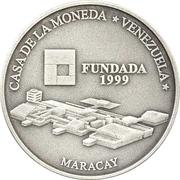 6000 bolivars (Maison de la monnaie de Maracay) – revers