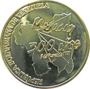 20000 bolivar (300 ans de Maracay) – revers