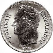 25 centimos (nickel) -  revers
