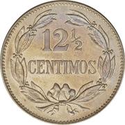 12½ centimos – revers