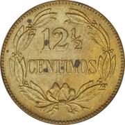 12½ centimos (laiton) – revers