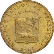 12½ centimos (laiton) – avers