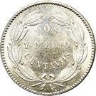 2½ centavos – revers
