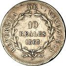 10 reales – revers