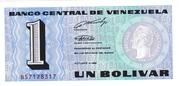 1 Bolívar – avers