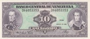 10 Bolívares – avers