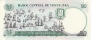 20 Bolivares – revers