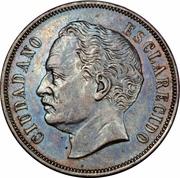 2 centavos (Essai) – avers