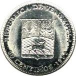 50 centimos (acier plaqué nickel) – avers