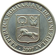 25 centimos -  avers
