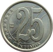 25 centimos – revers