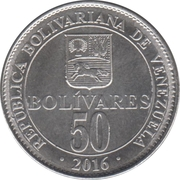 50 Bolívares – revers