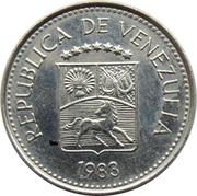 5 centimos (acier plaqué nickel) – avers