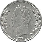25 centimos (nickel) – revers