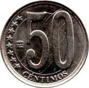 50 centimos – revers