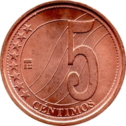 5 centimos – revers