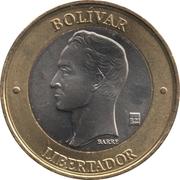 1000 bolivars – revers