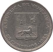 50 centimos (nickel) – avers