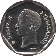 10 bolivars (acier plaqué nickel) – revers