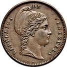 ¼ centavo – avers