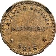 1 Bolívar (Maracaibo Leper Colony) – avers