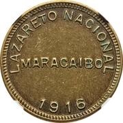2 Bolívares (Maracaibo Leper Colony) – avers