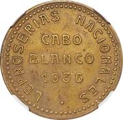 5 Bolívares (Cabo Blanco Leper Colony) – avers