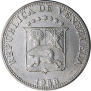 12½  centimos (republica) – avers