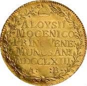 1 osella - Alvise Mocenigo IV – revers