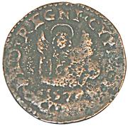 Siège de Famagouste 1570 - Besant au lion de Venise – avers