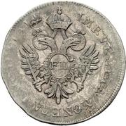 1/2 Lira - Franz II – avers