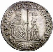1 ducato - Nicolò da Ponte – avers