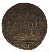 Italy, Venice, Candia (Crete), Gazzetta (2 soldi) – revers