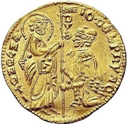 1 ducato - Giovanni Dolfin – avers